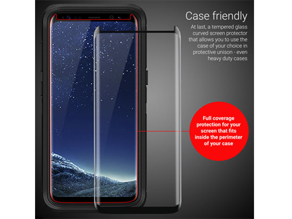 گلس 3D Case Version سامسونگ S8